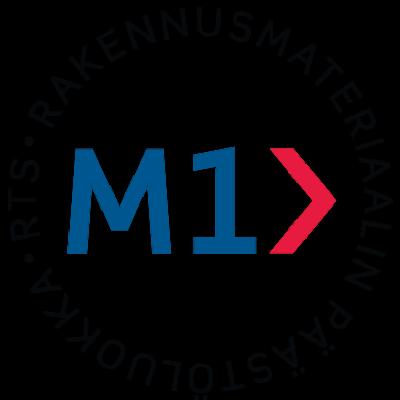 M1 RTS rakennusmateriaalin päästöluokka